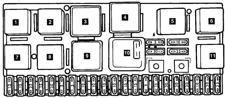 Машина audi 100 44 1985 г в 2 2i ku k jetronic не могу найти схему электронного блока управления стабилизацией хх...
