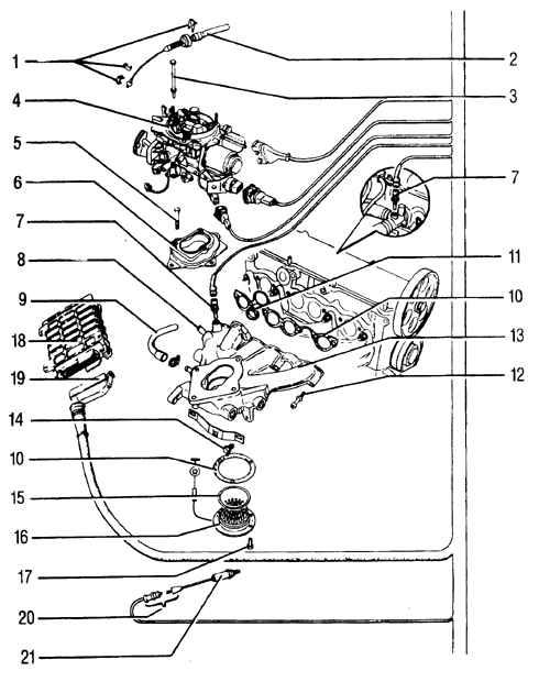 Здесь приведены материалы по устройству карбюраторов Pierburg 2E3 и 2EE.