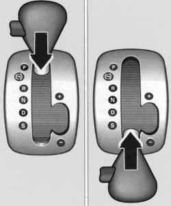 Блокировка рычага управления