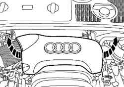 Задняя крышка двигателя