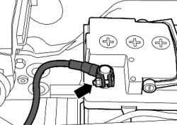Массовый кабель АКБ