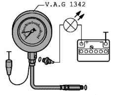Проверка давления масла и датчика давления масла