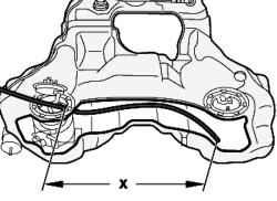 Схема установки откачивающего шланга