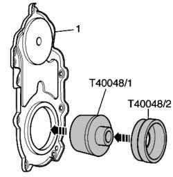 Схема монтажа установочного инструмента