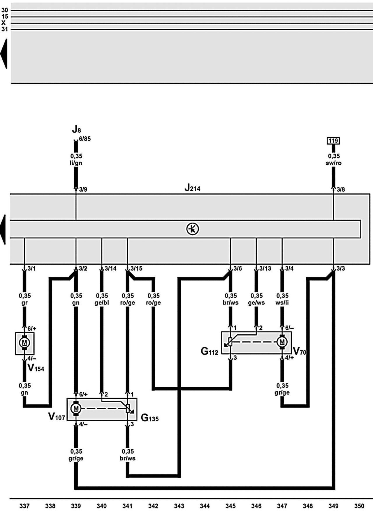 Тормозная система ауди а6 схема