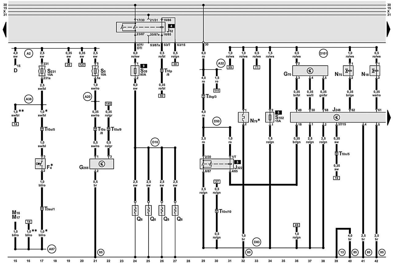 Электронная схема газоанализатора гаи-1.
