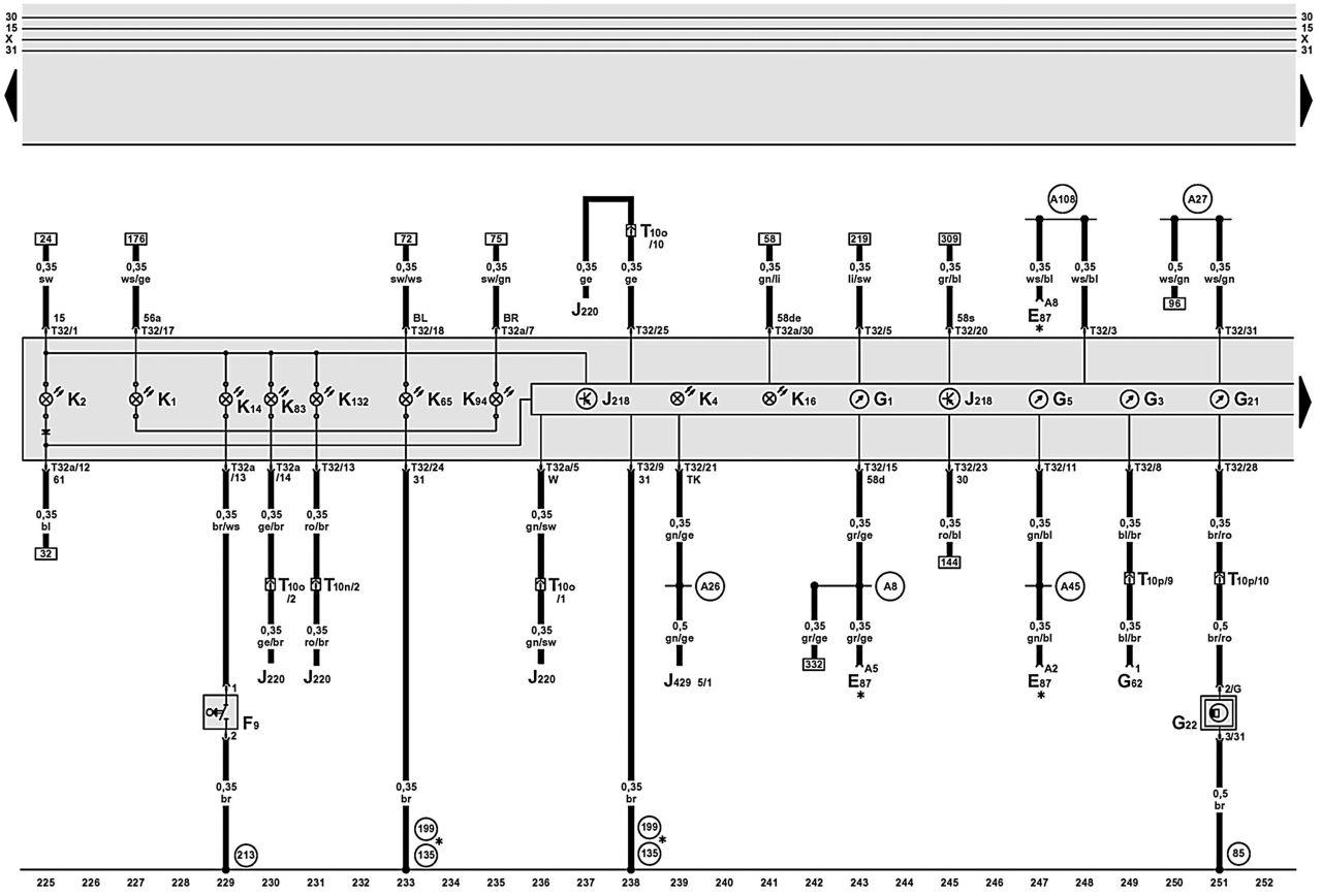 Схема Смазки Ауди А6