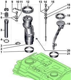 Топливный насос/ датчик уровня топлива