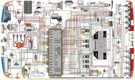 Электросхема автомобилей