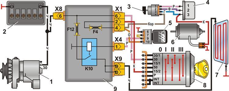 Электронные схемы.  Электронная схема телевизора shivaki stv-2179 электронная схема включения вентилятора охлаждения.