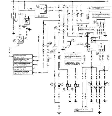 принципиальная схема телевизора polar