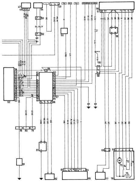 К типичной принципиальной схеме центральной системы блокировки дверей, противоугонной сигнализации...