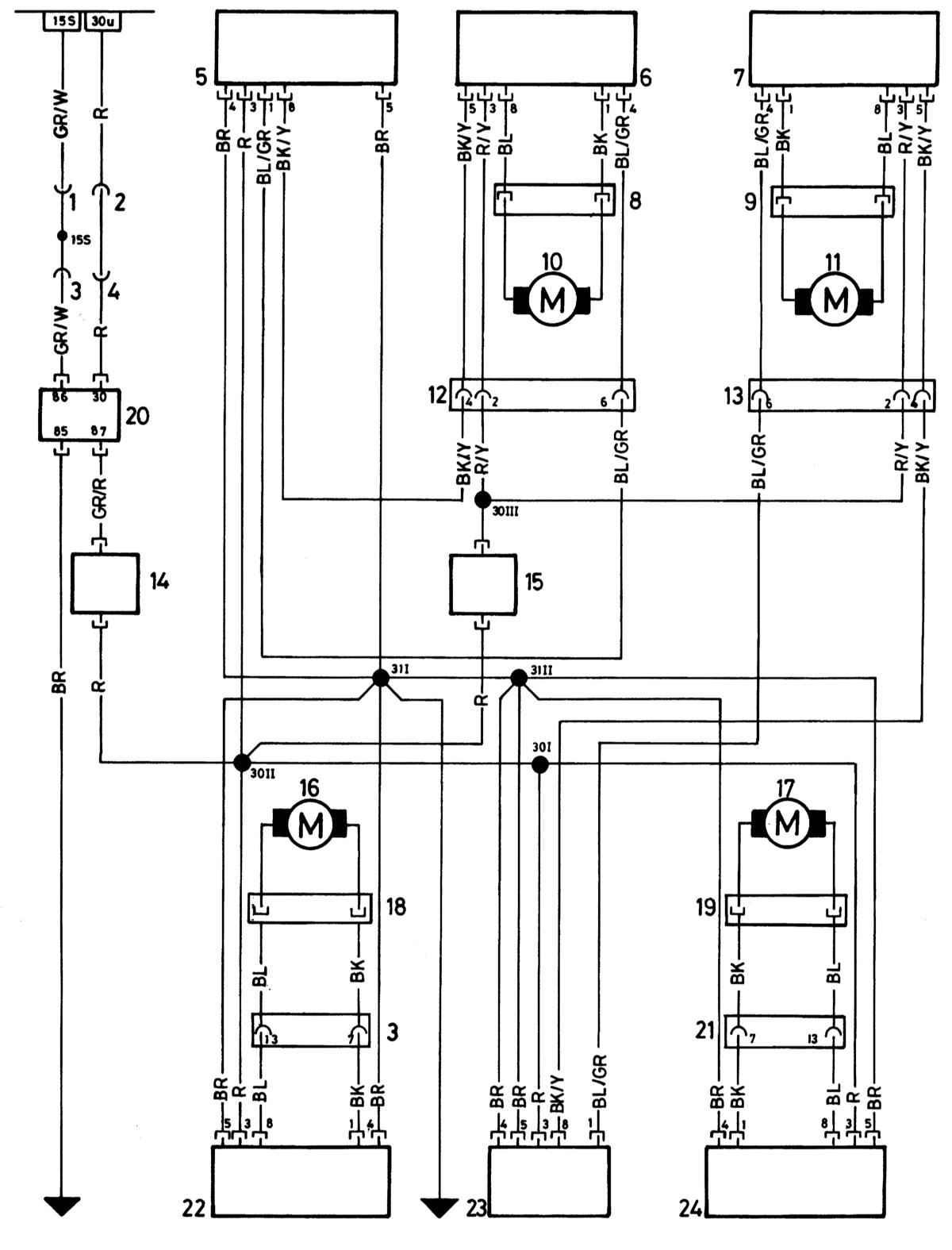 по схеме надо прозвонить все провода и заново сформировать штекеры. схема такая.