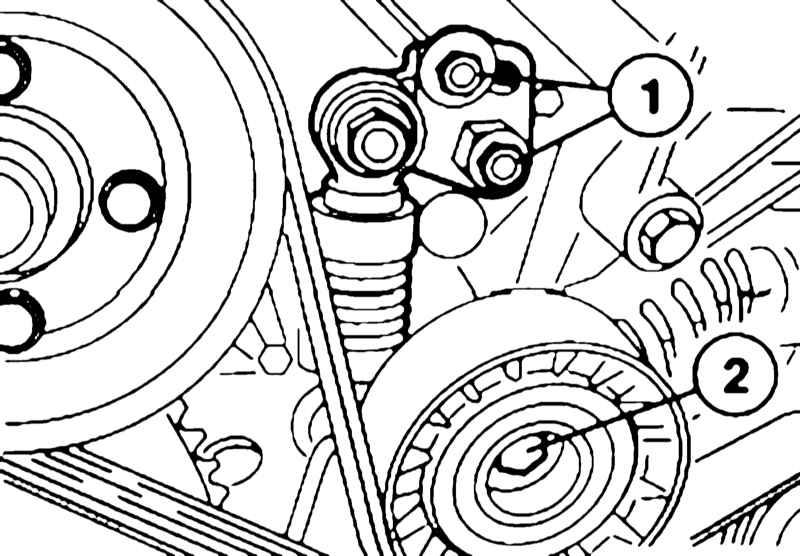 ремень генератора на BMW e38