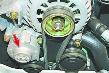 Замена ремня генератора на чери амулет