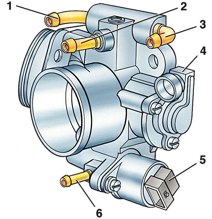 Электронная система управления двигателем (система впрыска топлива).  Часть 5 - ВАЗ 2110/2112/2111.