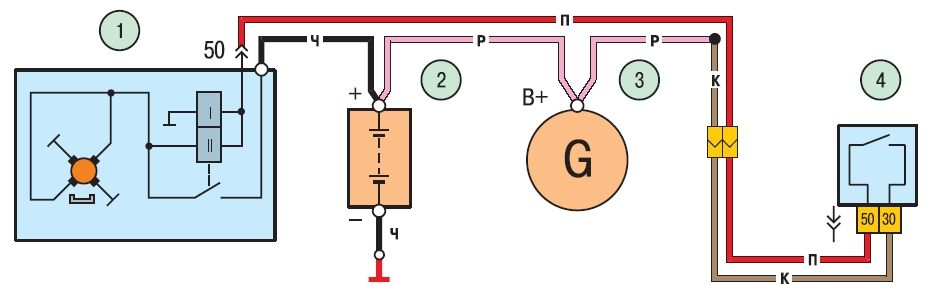 Tiida схема установки ремня генератора.