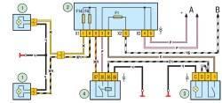 Схема включения противотуманных фар