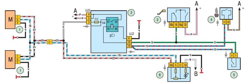 Свет и сигнализация шеви нива шевроле niva chevrolet ваз 2123.