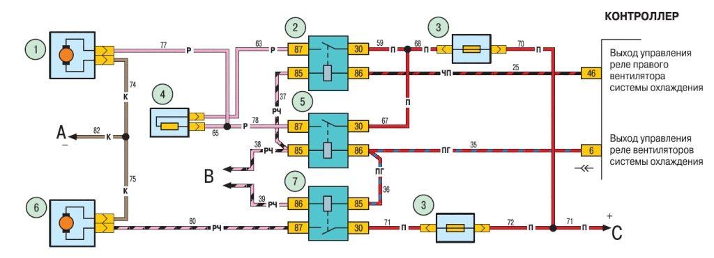 датчик включения вентилятора ВАЗ Шевроле-Нива - купить датчик .