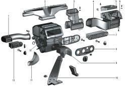 Система отопления салона кузова