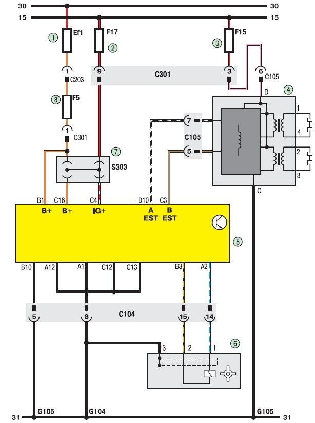 Ланос схема подключения датчика топлива
