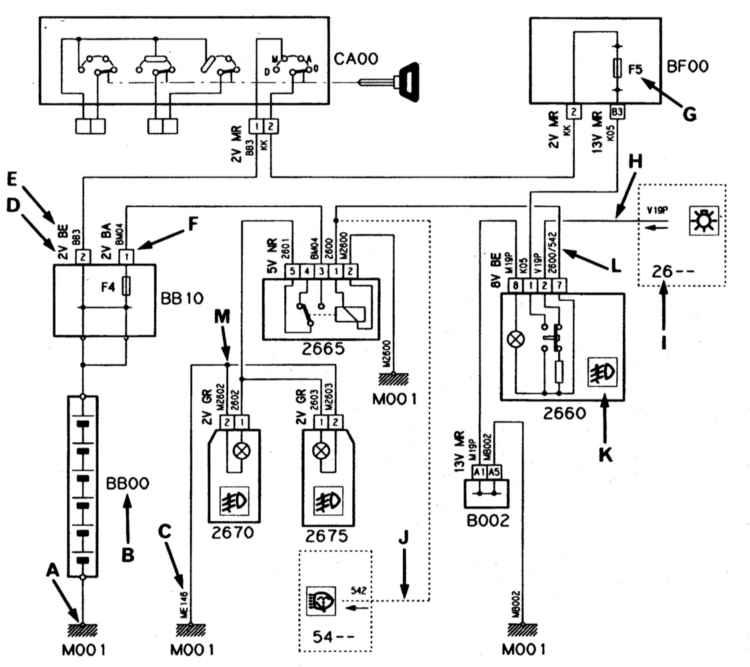 Схема подключения датчиков ваз 2123