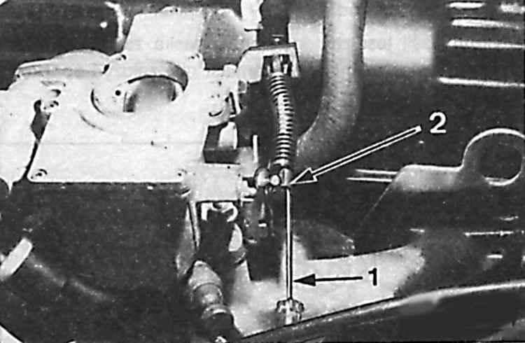 замена тросика газа на форд мондео 1997