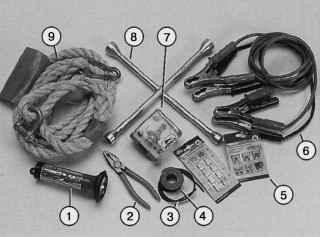 Бортовой комплект инструмента