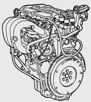 Двигатель Zetec-SE 1,25 и 1,4 (55 кВт/ 75 л.с., 66 кВт/ 90 л.с.)