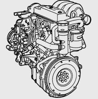 Двигатель Endura-DE 1,8 (44 кВт/ 60 л.с.)