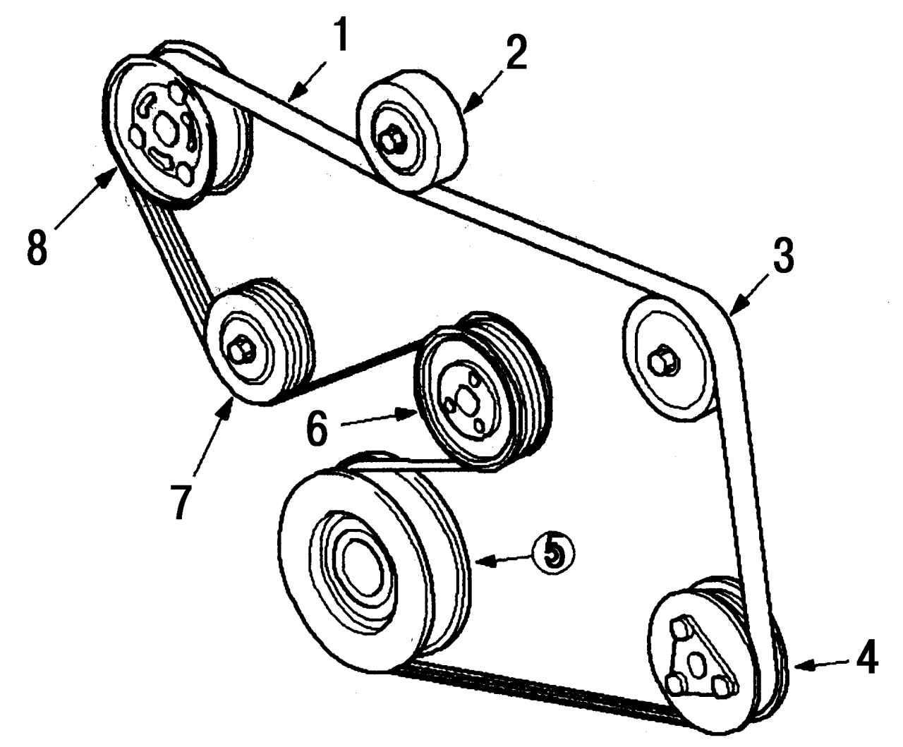 Ремень генератора форд фокус 2