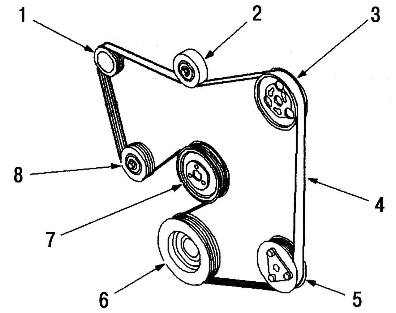 Ремень генератора форд фокус 1