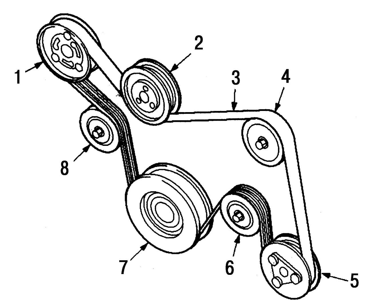 Ремень генератора форд фокус 3