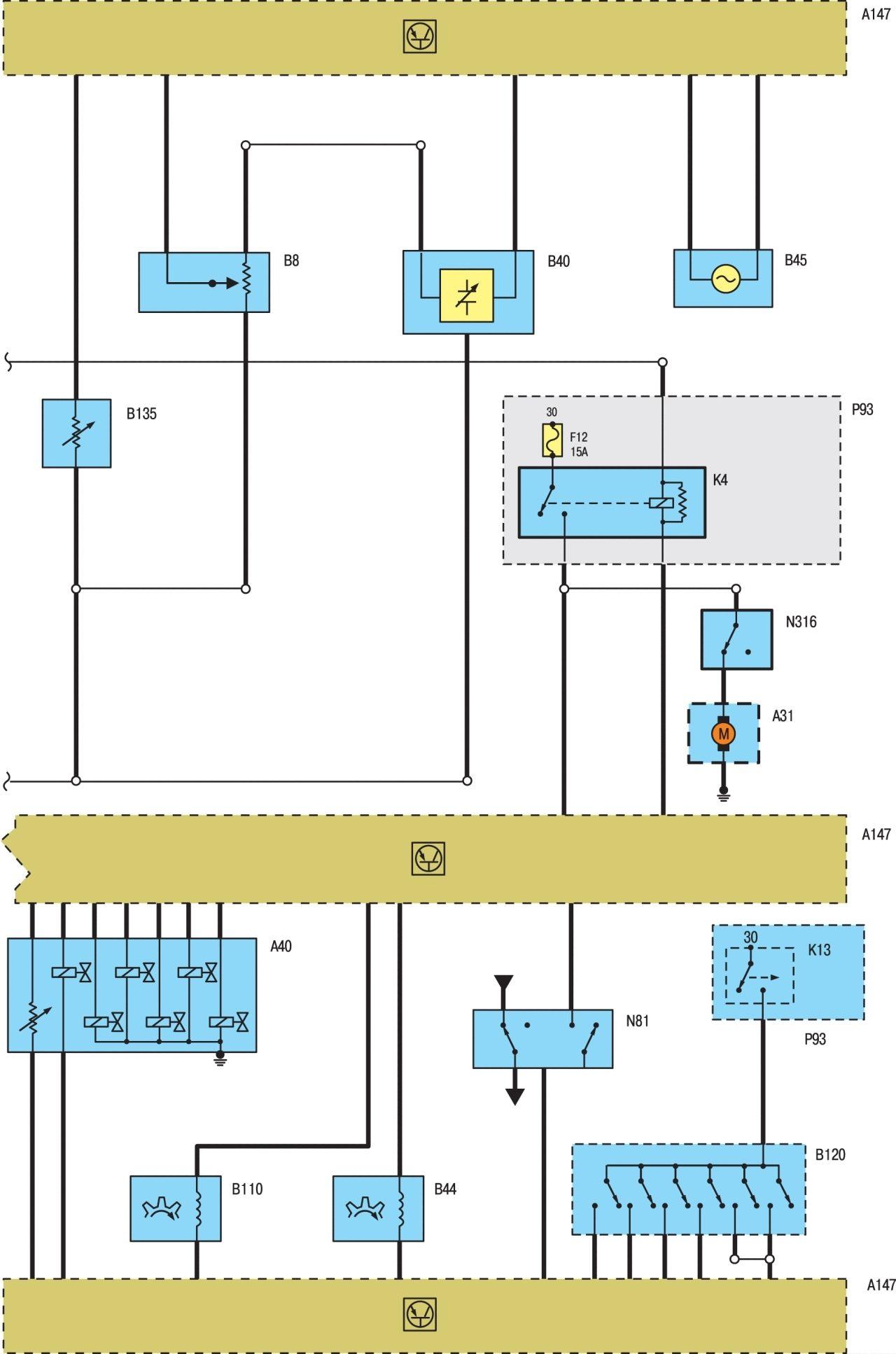 Электрическая схема на ford focus