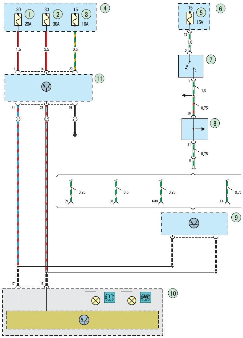 ...датчика скорости для блока АБС могут не использоваться, но на дорогих машинах включая форд фокус используются.