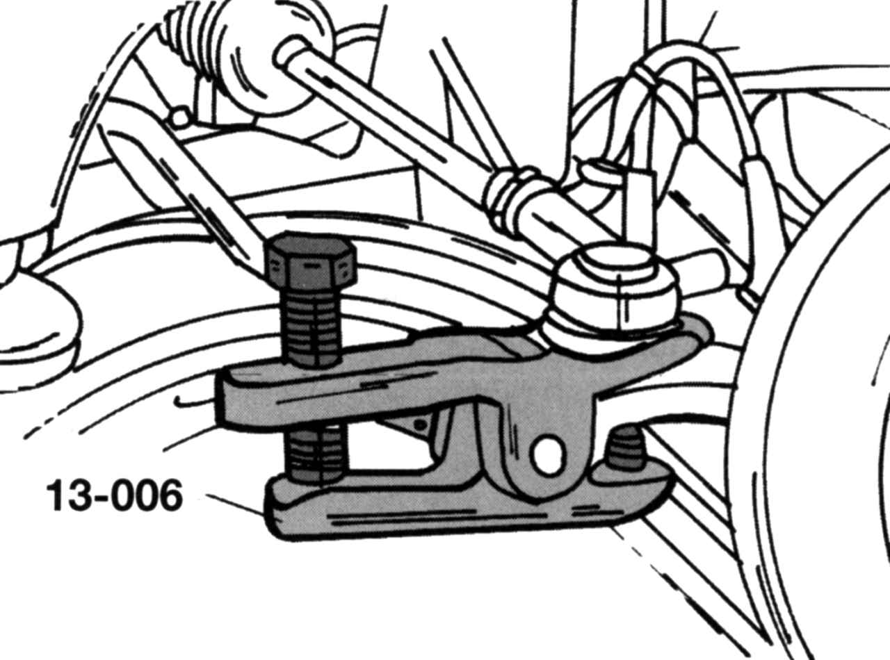 Приспособление для снятия рулевых тяг сделать своими руками