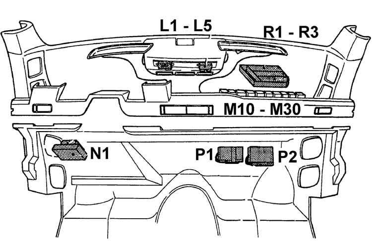 Электрооборудование Форд