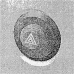 Кнопка выключателя аварийной сигнализации