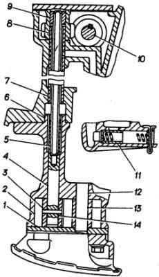 Масляный насос, редукционный клапан и привод масляного насоса