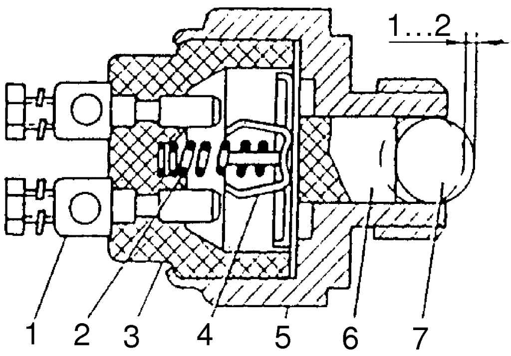 Фото №1 - схема датчика заднего хода ВАЗ 2110