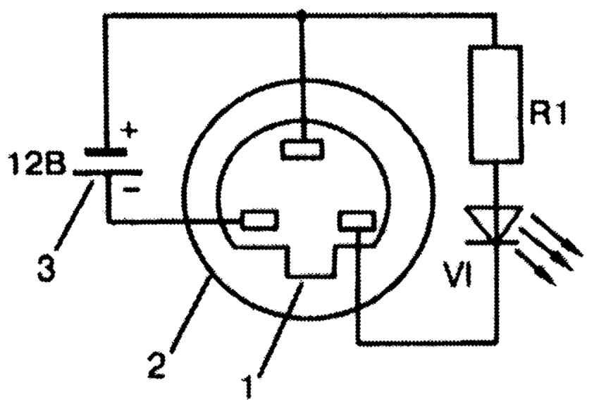 схема спидометра ауди 80