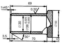 Пробка-заглушка удлинителя коробки передач