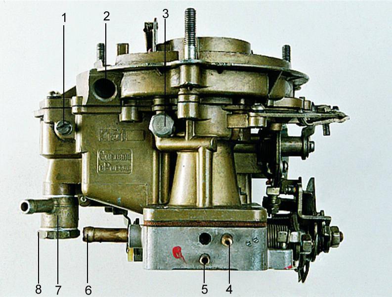 25 Карбюратор К-151 разборка очистка сборка 3 Элементы карбюратора.