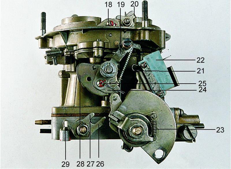 (в карбюраторах К-151В);