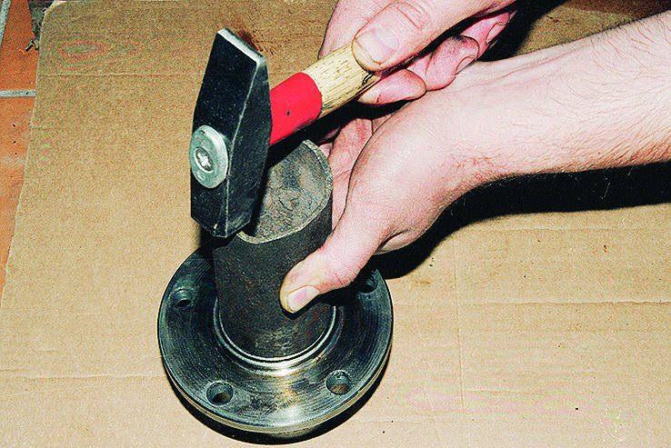 Запрессовка ступичных подшипников своими руками