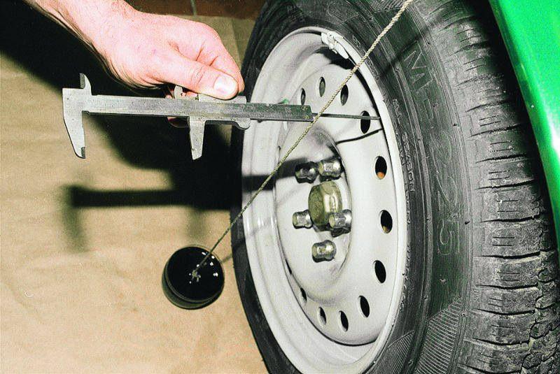 Фото №47 - как самому сделать схождение колес на ВАЗ 2110