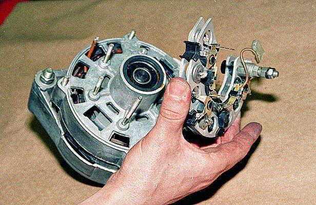 Ремонт генератора на соболь своими руками