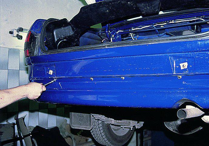 Ремонт заднего бампера газ 3110 своими руками 23