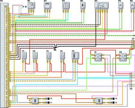 электросхема двигателя 402
